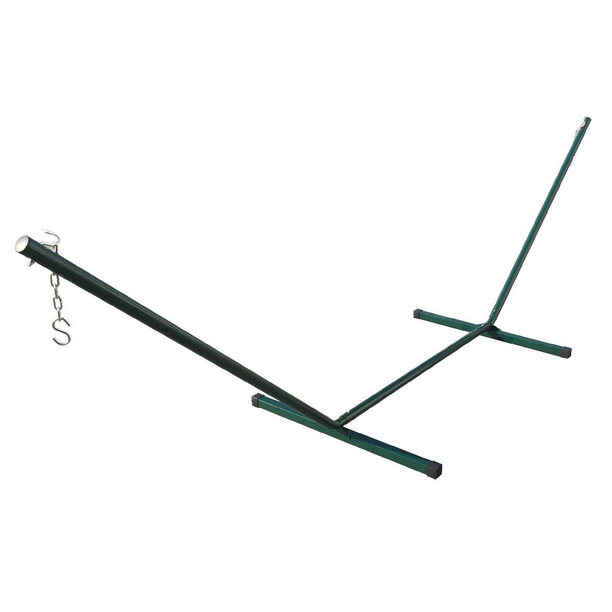 12 Feet Green Hammock Heavy Duty Metal Steel Frame
