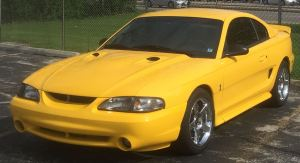 1994 1995 1996 1997 1998 Ford Mustang Smoke Headlights