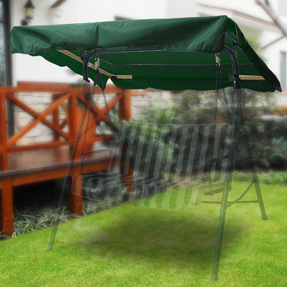 76 x44 outdoor patio swing canopy top