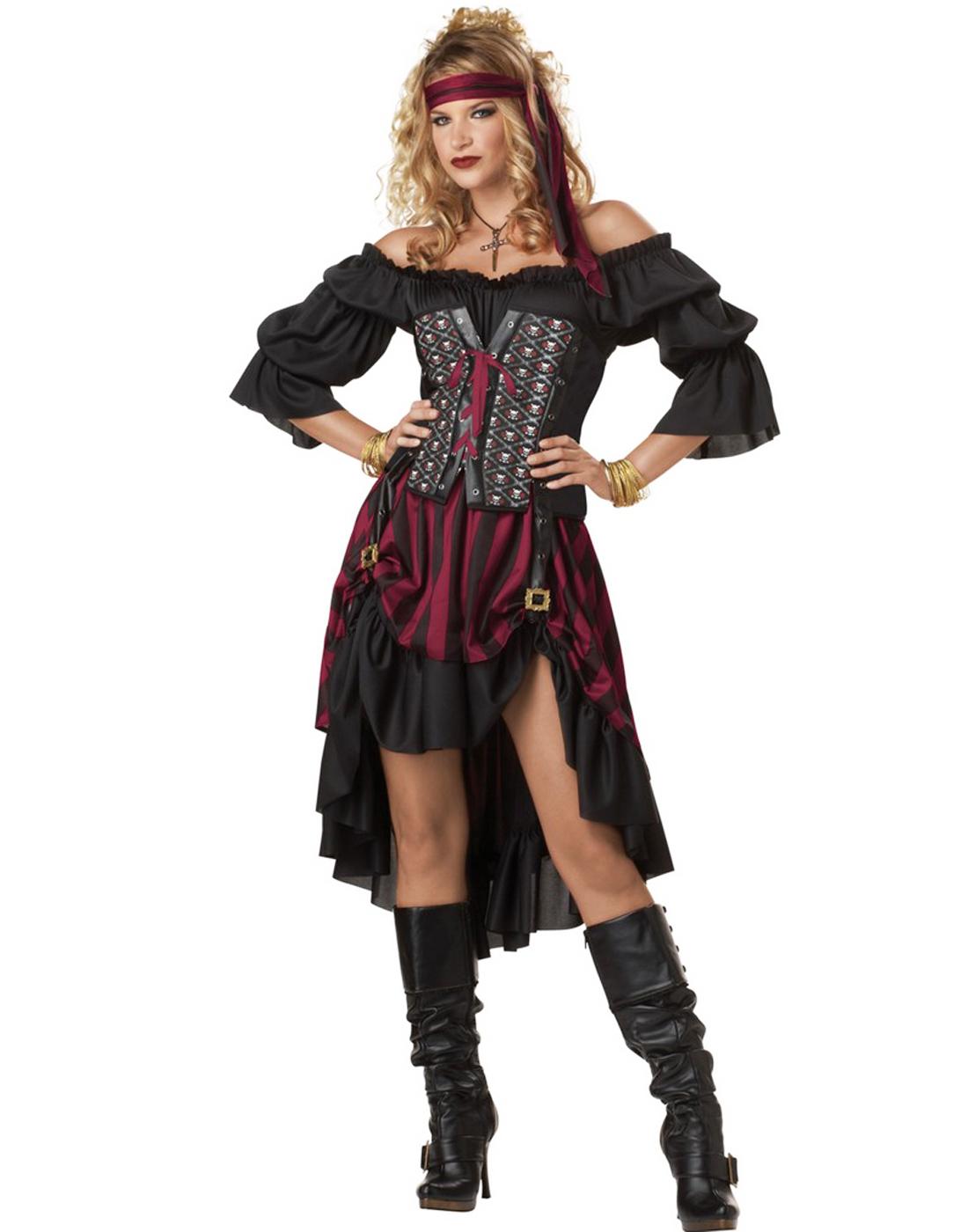 Steam Punk Renaissance Pirate Wench Womensy Halloween