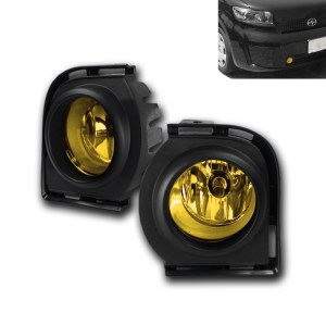 FRONT BUMPER YELLOW FOG LIGHT KITHARNESSSWITCH SET FOR