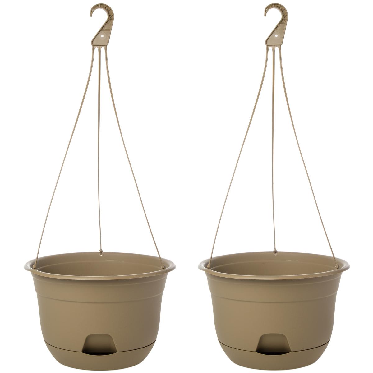 """2pk Suncast 12"""" Self-Watering Hanging Planter Indoor ... on Hanging Plant Pots Indoor  id=45894"""