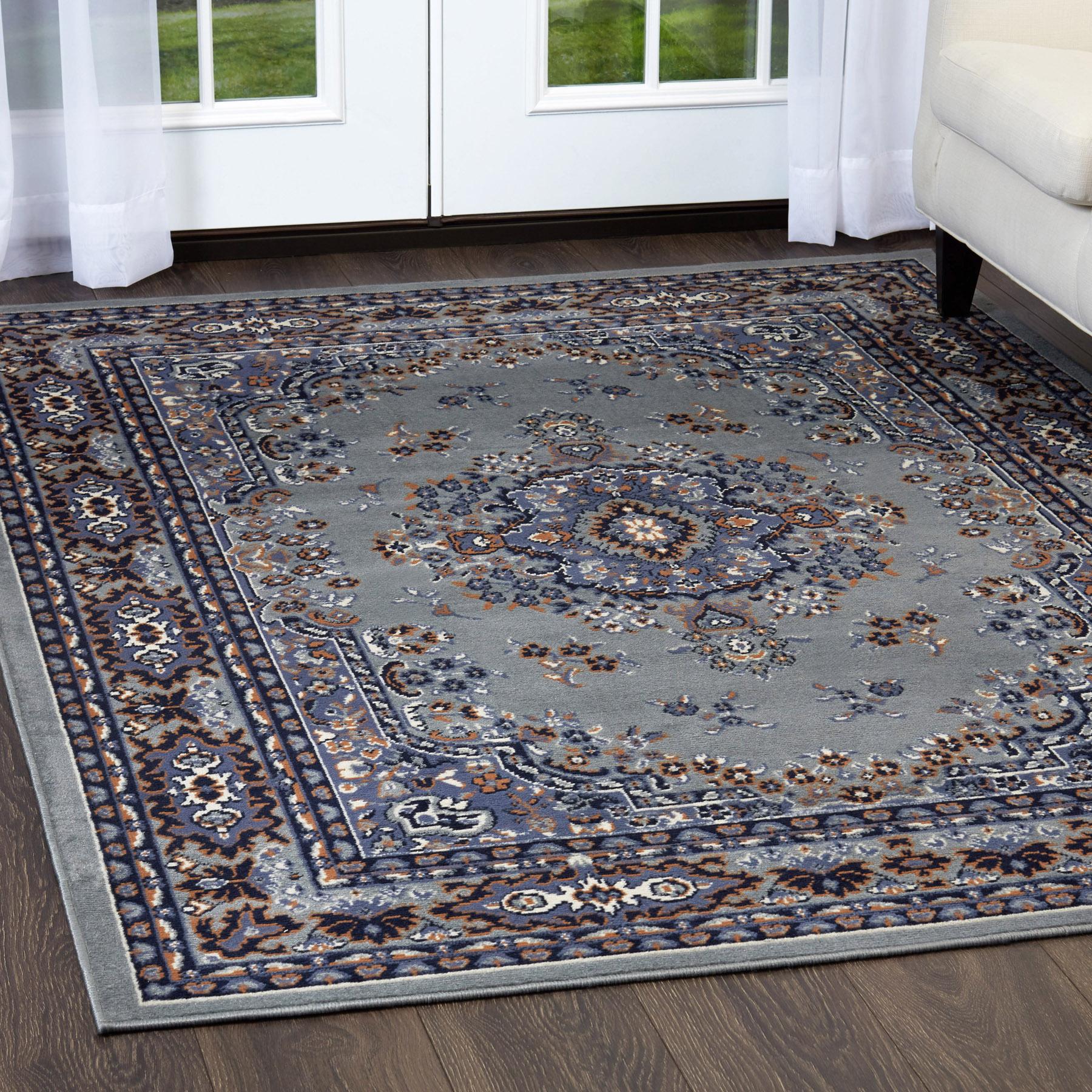 Details About Persien Silver Area Rug Runner 2 X 8 Oriental Carpet 69 Actual 1 10 X 7 3