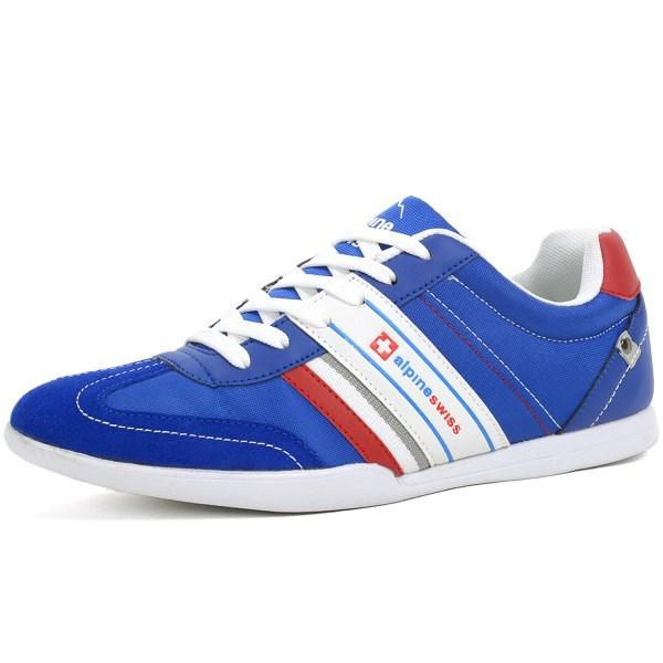 AlpineSwiss Ivan Mens Tennis Shoes Fashion Sneakers Retro ...