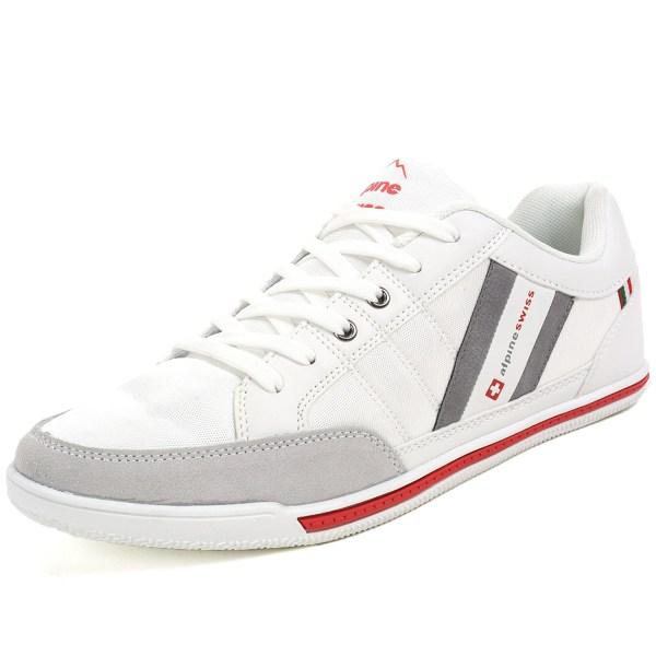 Alpine Swiss Stefan Mens Retro Fashion Sneakers Tennis ...
