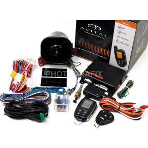 Avital 5305L 2Way Remote Auto Car Start Starter & Alarm