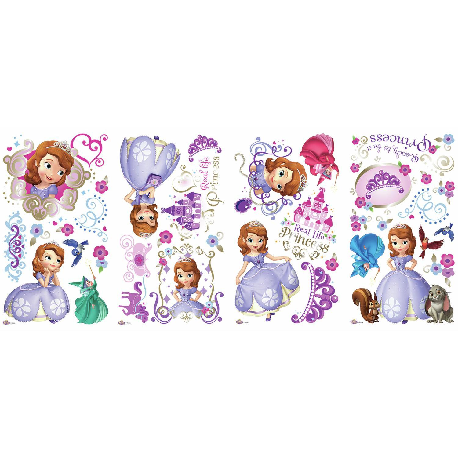 Sofia The First Wall Stickers 37 Decal Disney Princess