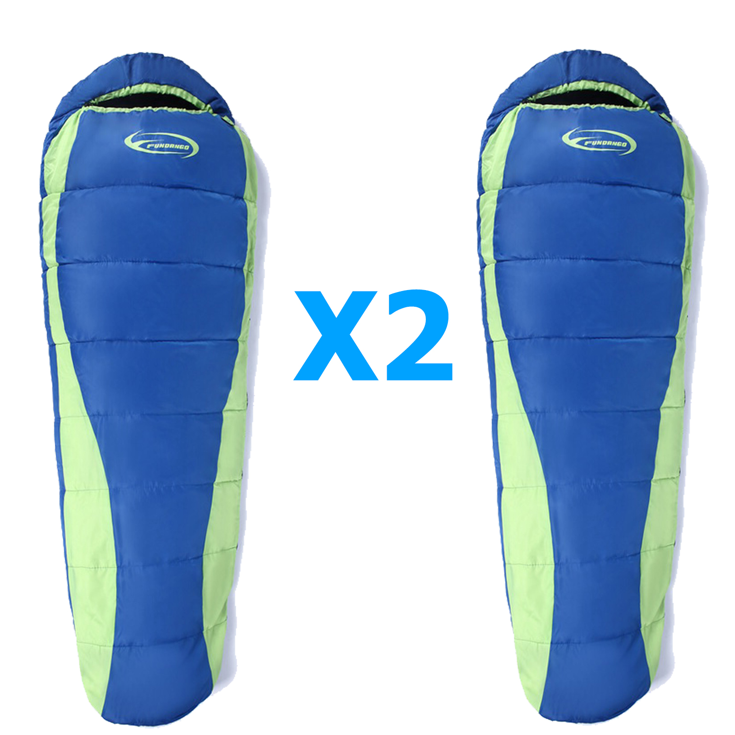 2 Person Tent 2x Mummy Sleeping Bags 3day Zombie Survival