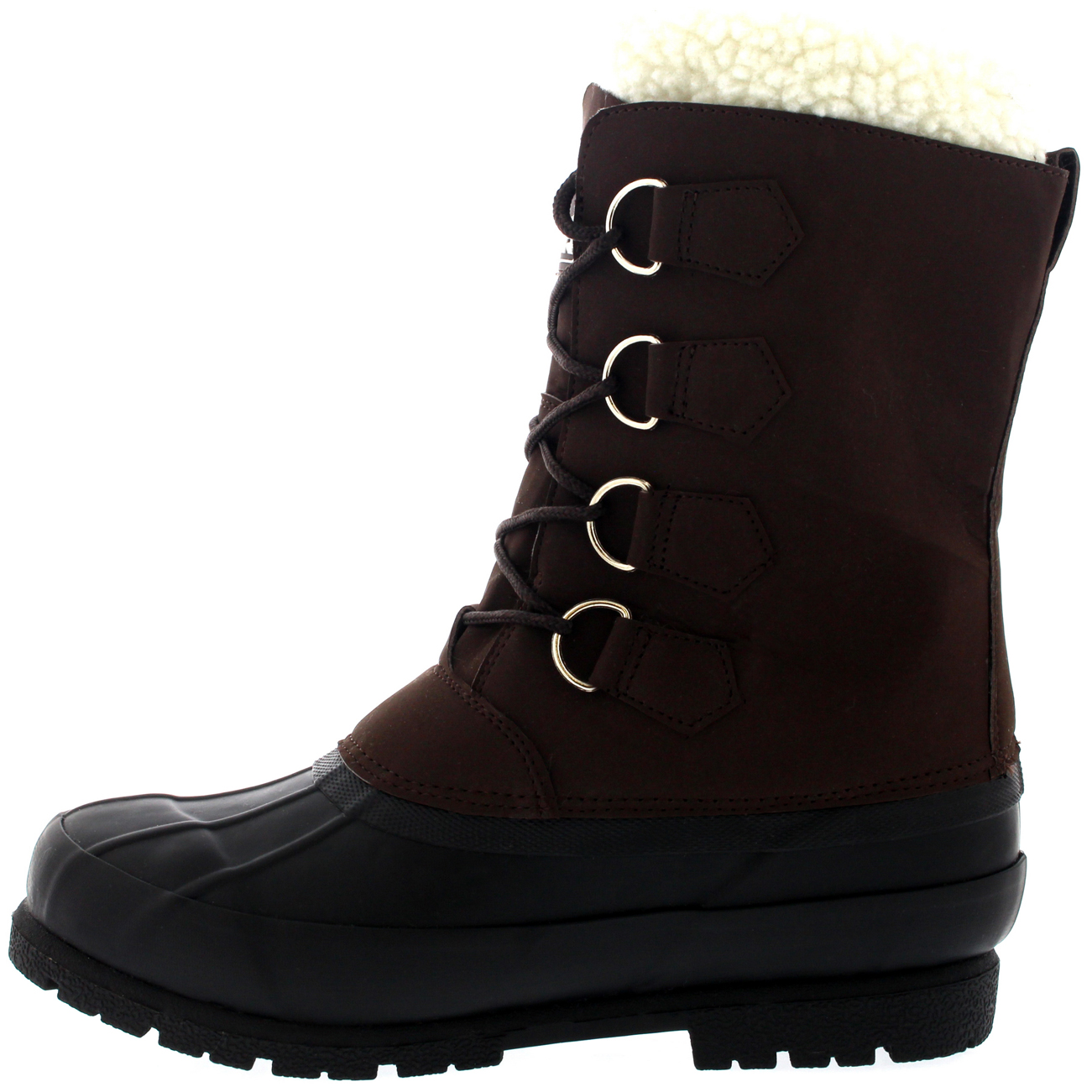 Boots Winter Wool Mens Lining