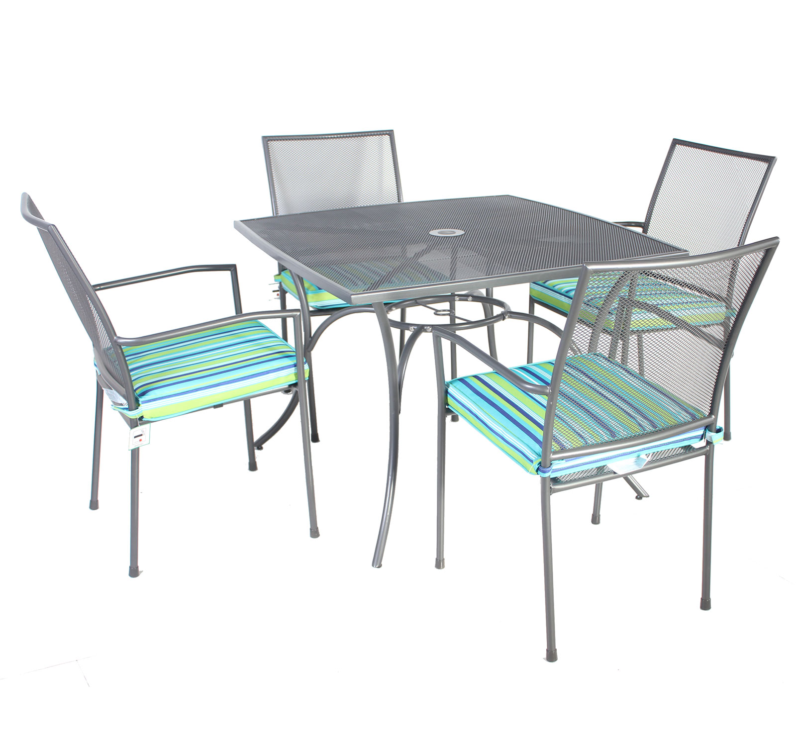 Metal Patio Table And Chairs Set