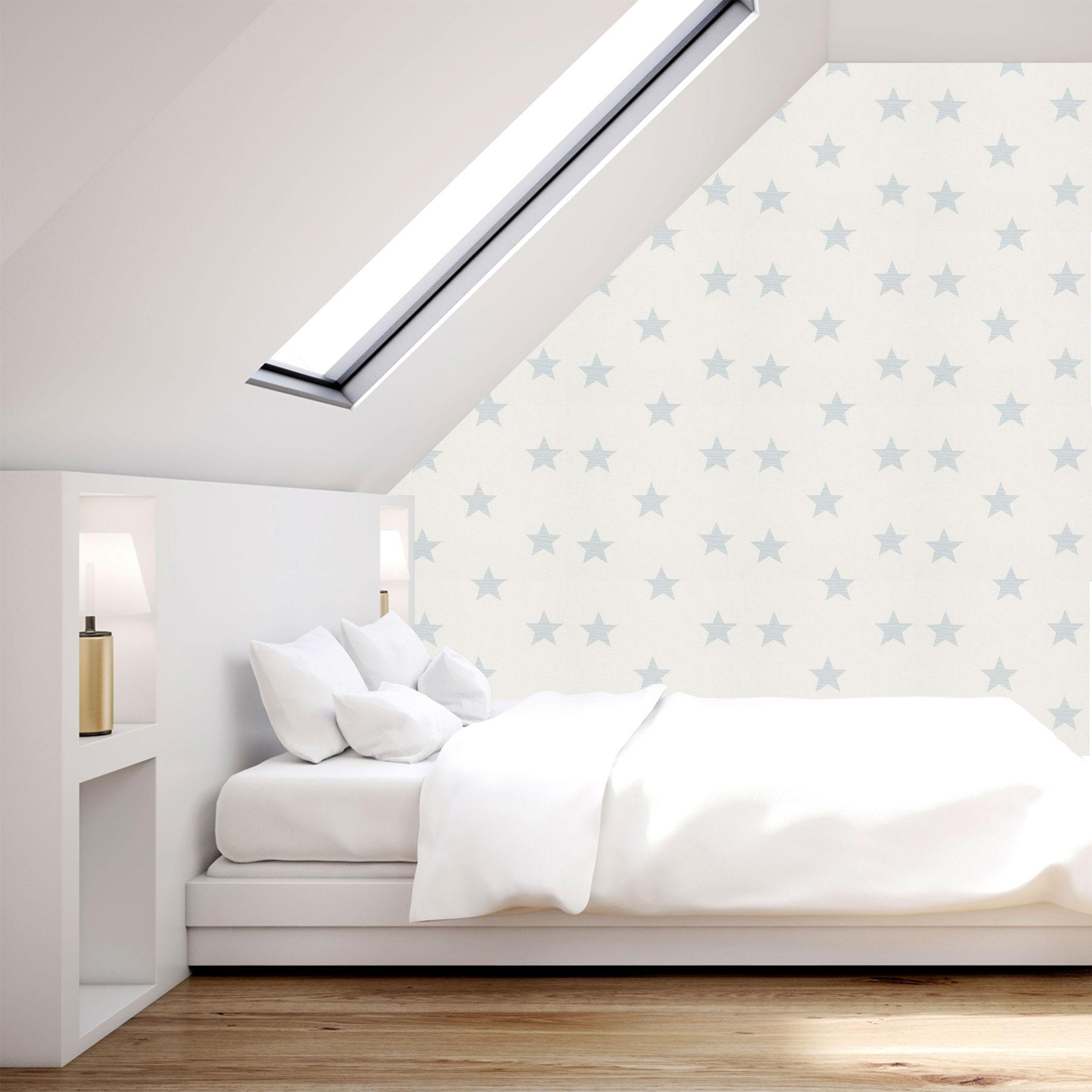 Star Wallpaper Stars Kids Teen Children's Bedroom Planets ... on Beige Teen Bedroom  id=42039