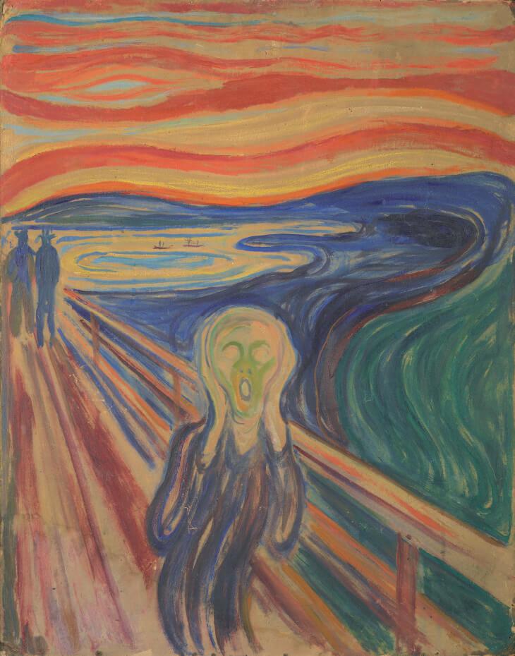 靈魂引起的共鳴!孟克《吶喊》將於今年秋天首次展出於東京都美術館 - 非池中藝術網