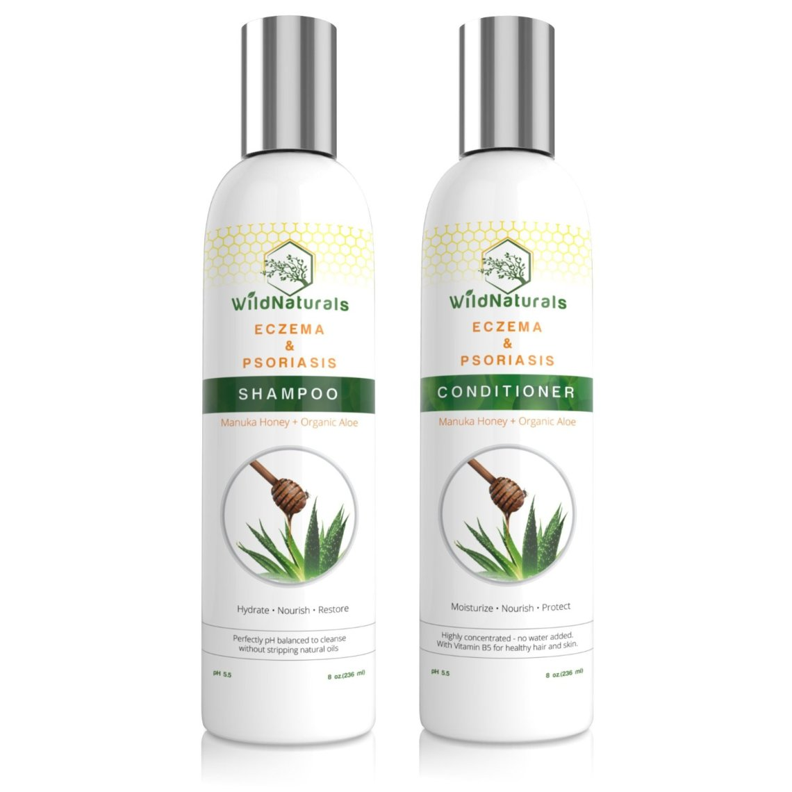 Wild Naturals Eczema/Psoriasis Shampoo/Conditioner Review