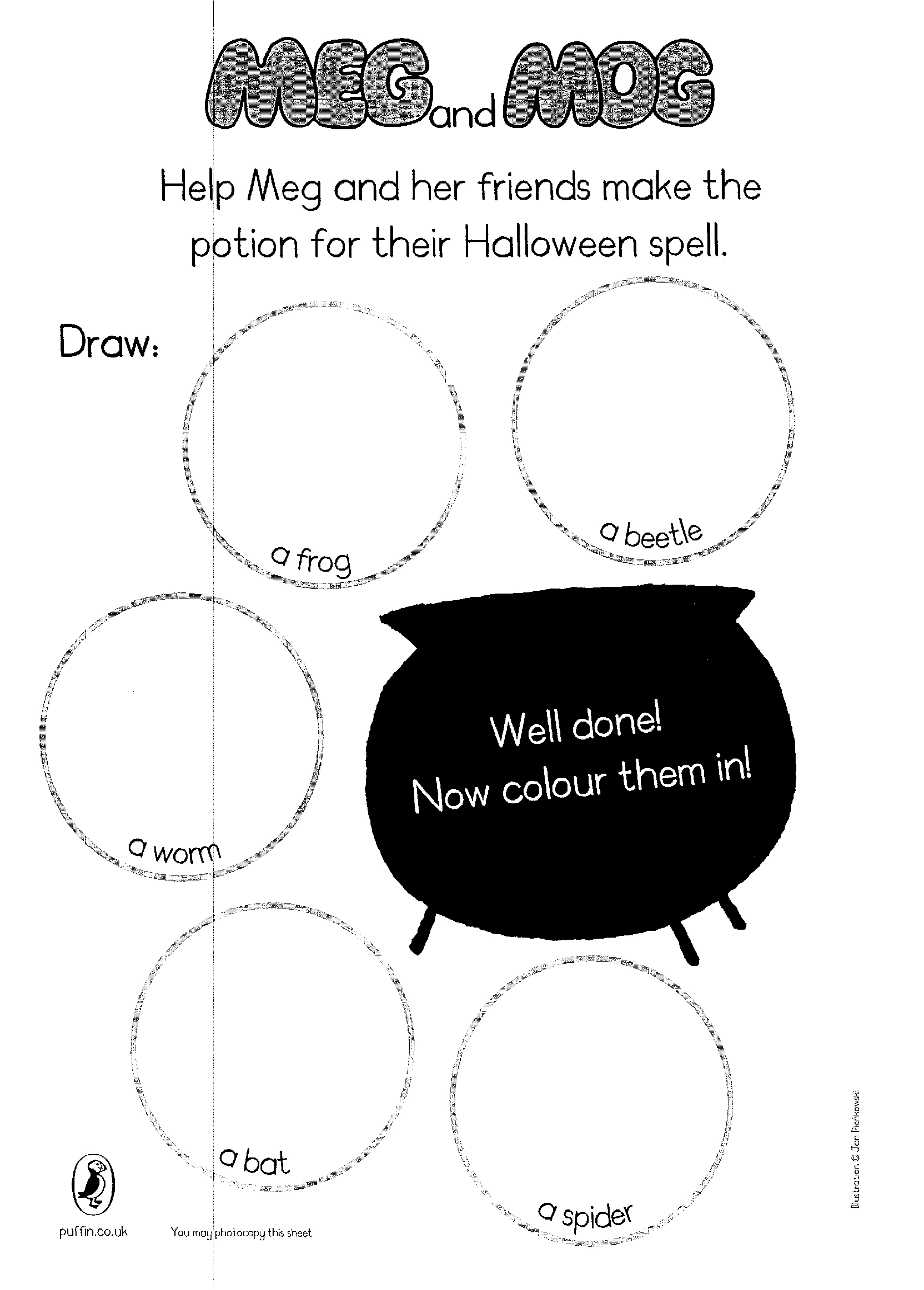 Meg And Mog Halloween Spell