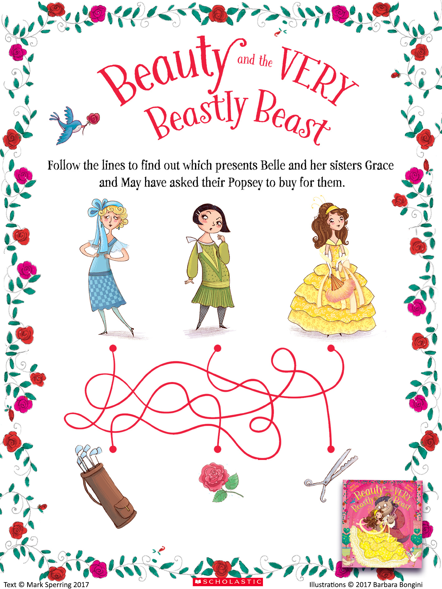 Beauty And The Very Beastly Beast Puzzle Activity