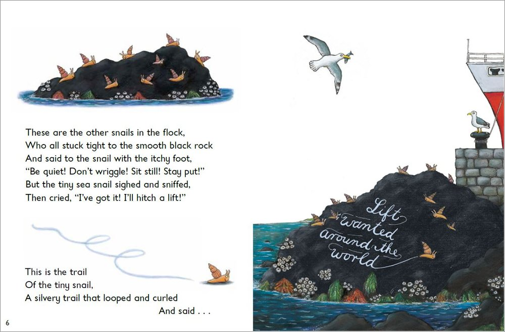 Lets Read The Snail And The Whale Scholastic Shop