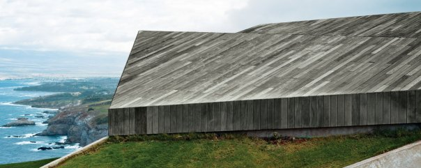 "Secrets You Need to Know When Using Wood in Wet Spaces - Photo 3 of 11 - ""In this house, the roof is the only facade—the rest is dissolved beneath it."" —Architect Aljoša Dekleva"