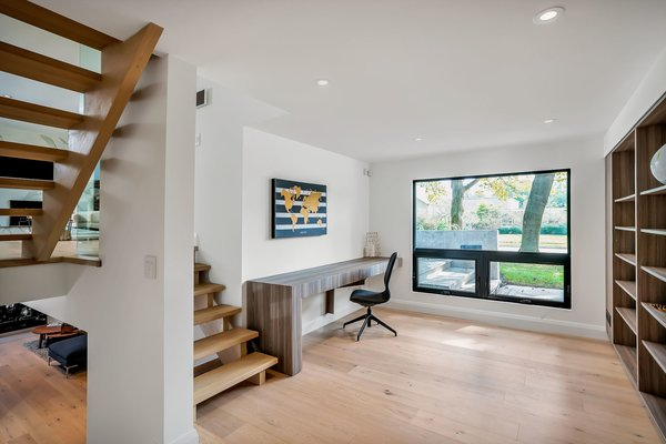 Modern home with Office. Photo 8 of Modern Renovation
