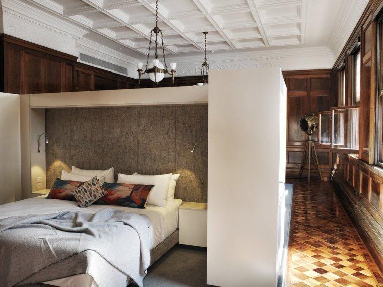 12 hôtels modernes dans les bâtiments historiques du monde entier - Photo 10 de 24 - Les intérieurs de The Old Clare à Sydney, en Australie