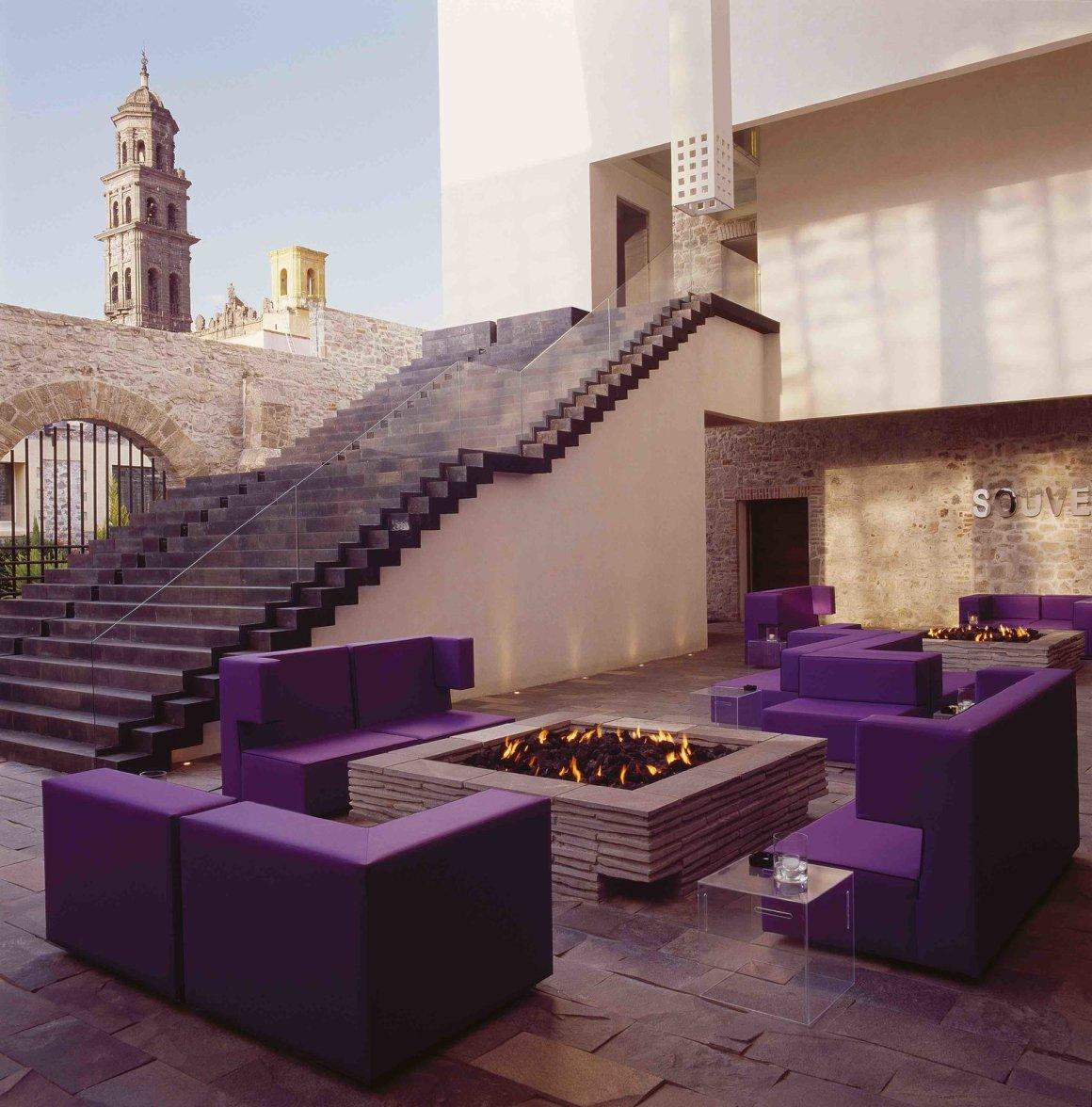 12 hôtels modernes dans les bâtiments historiques du monde entier - Photo 24 sur 24 - Les intérieurs de La Purificadora à Puebla, au Mexique