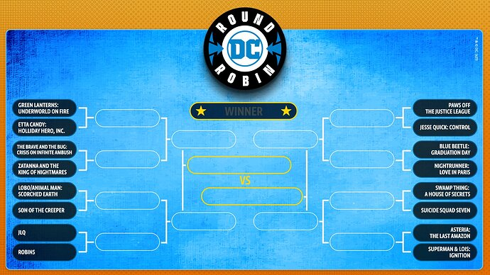 DC Round Robin Titles Released