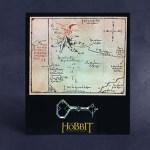 Top Geschenk: Der Hobbit – Thorins Karte mit Schlüssel – Wandbild, klein