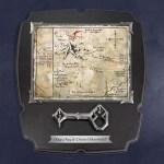 Top Geschenk: Der Hobbit – Thorins Karte mit Schlüssel – Wandbild, groß
