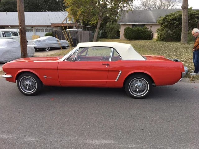 1964 Ford Mustang Convertible For Sale Near San Antonio