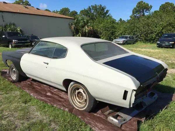 1972 Chevrolet Chevelle for sale near Port Charlotte  Florida 33953     1972 Chevrolet Chevelle for sale 100904141