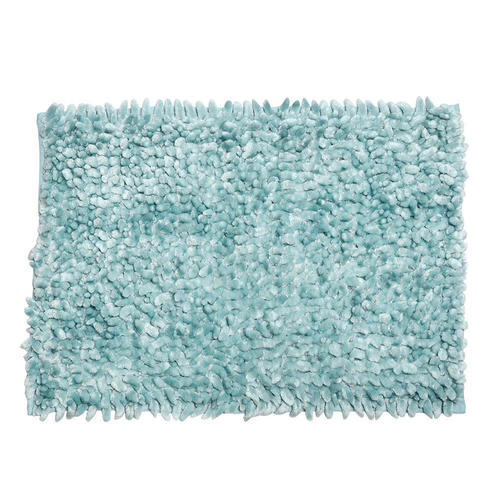 soft anti skid microfiber chenille bath mat antibacterial bath rug livingbasics green