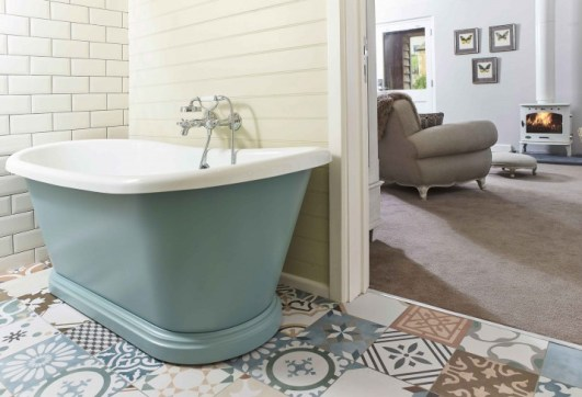 The Fish Hotel – Cotswolds – UK - Big Suite bathroom