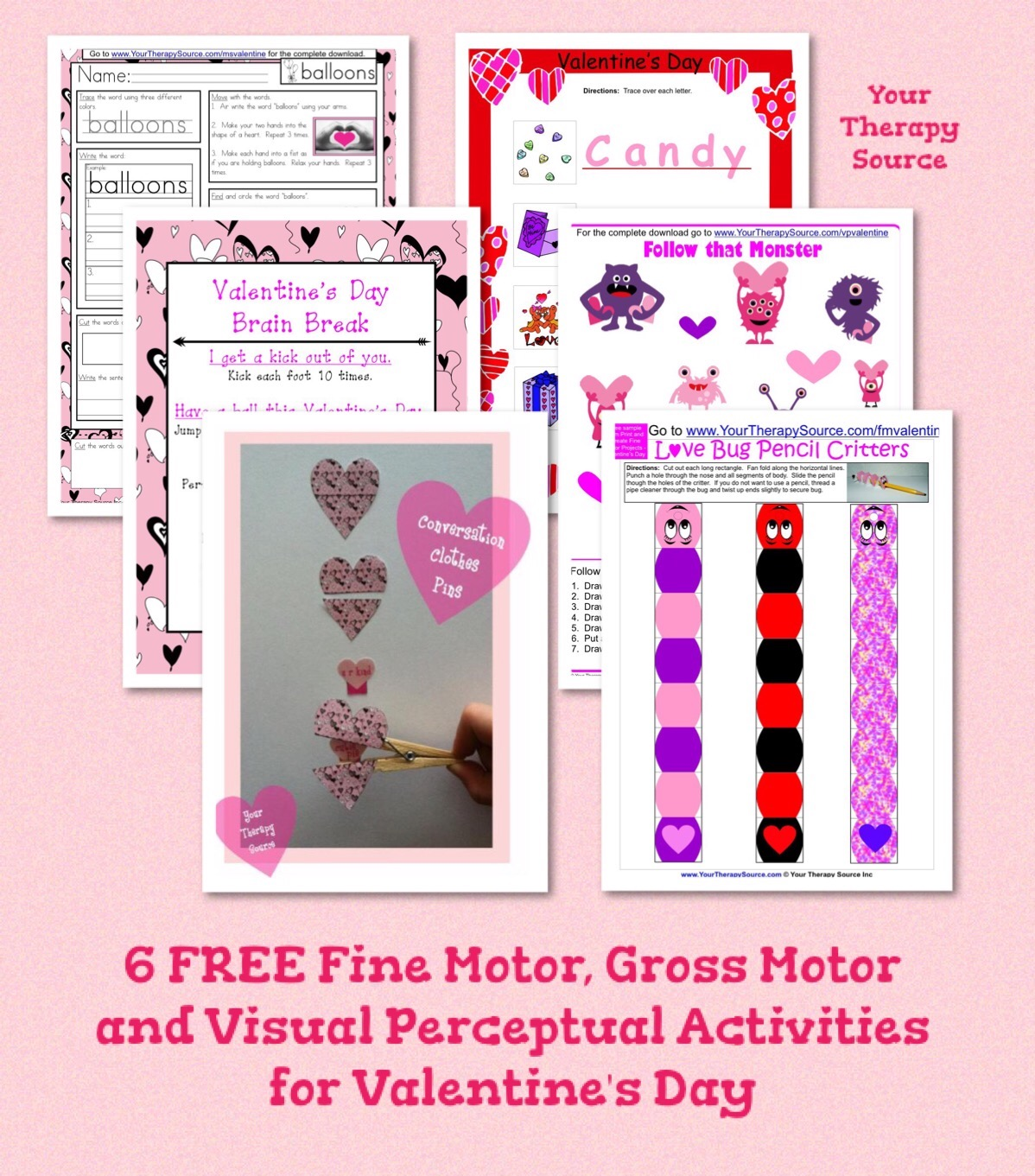 6 Free Printables For Valentine S Day