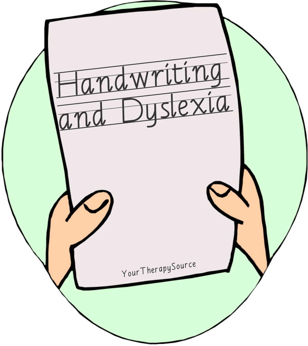 Handwriting And Dyslexia