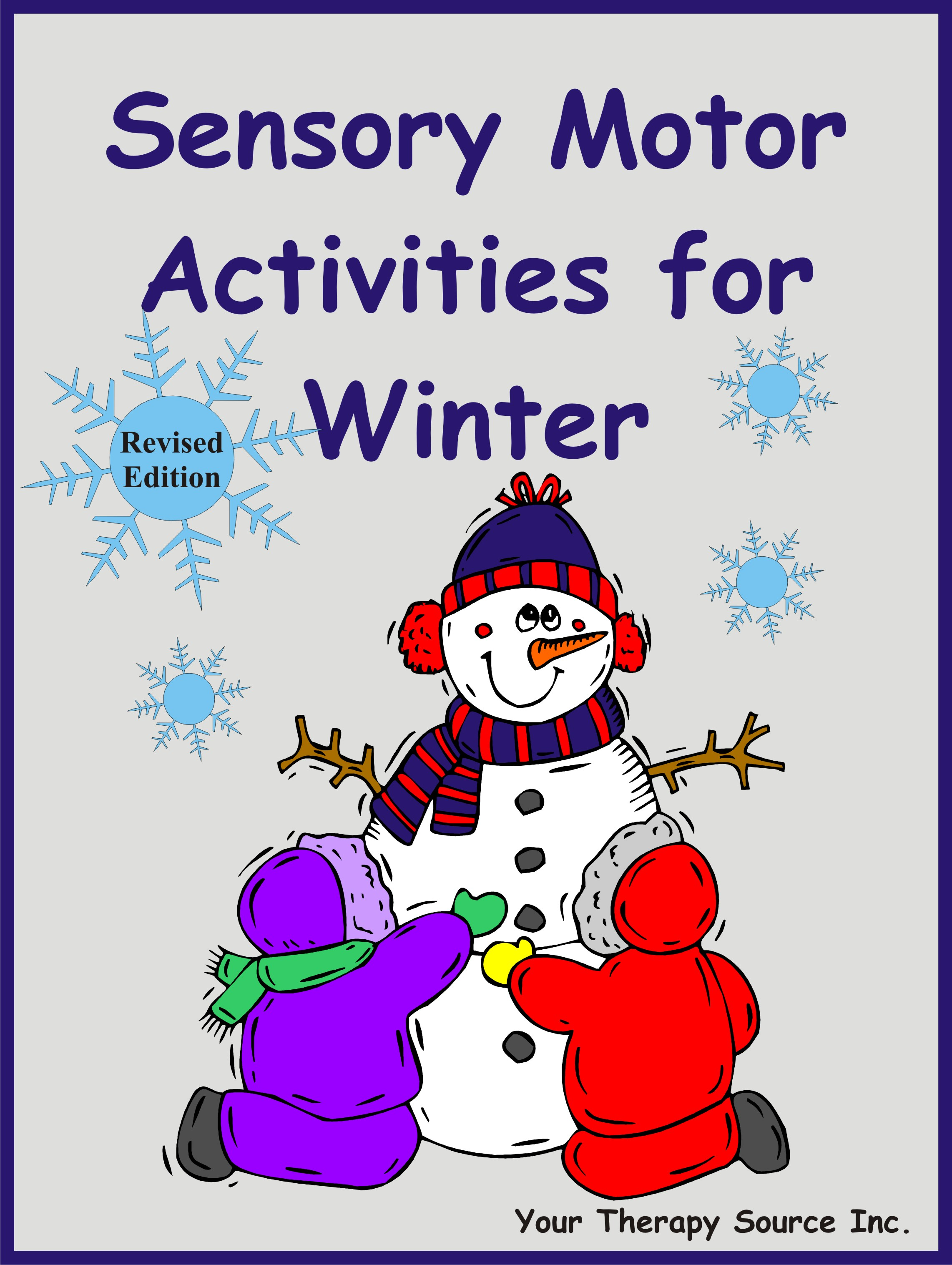 Sensory Motor Activities For Winter Revised Edition