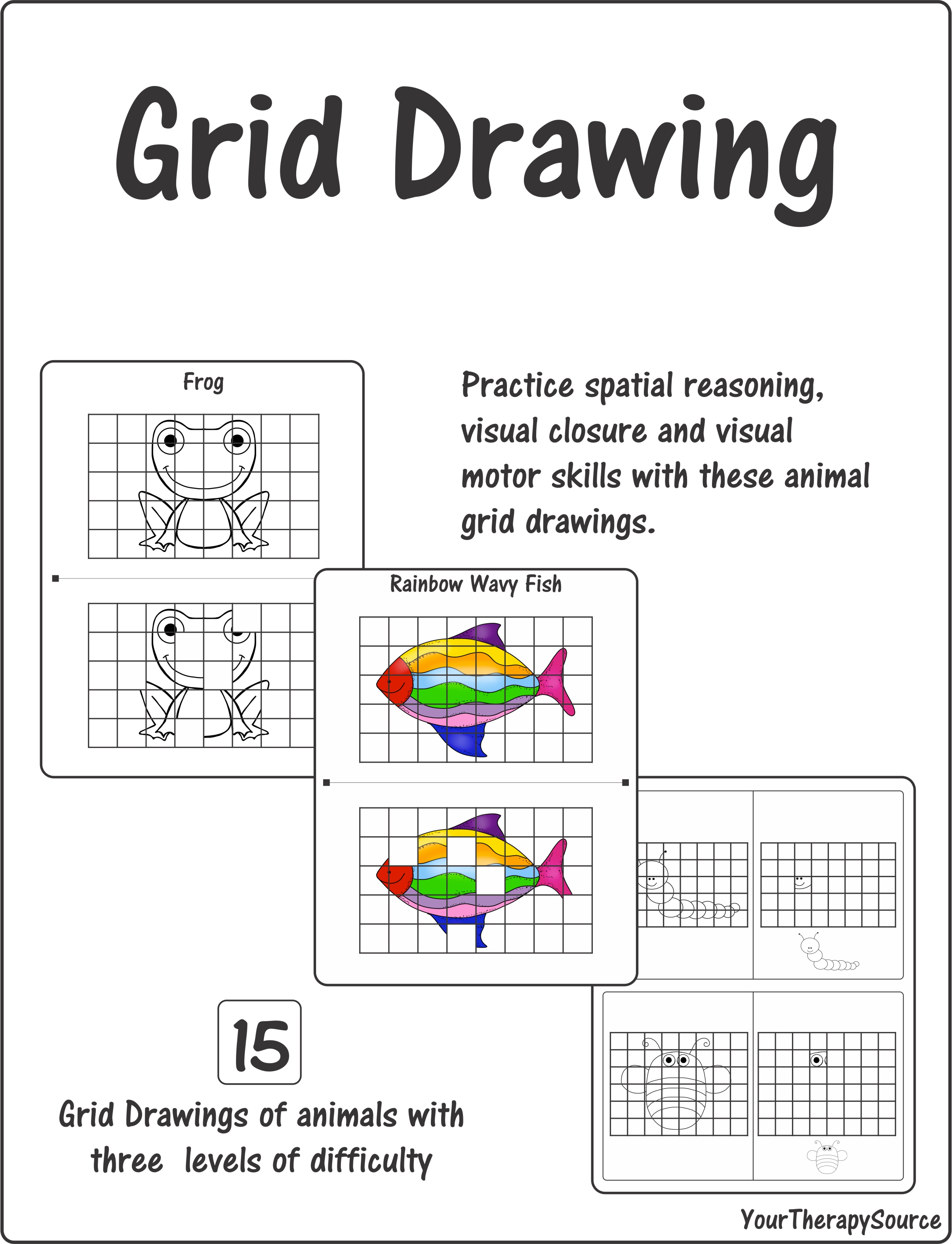 Grid Drawing Spatial Reasoning