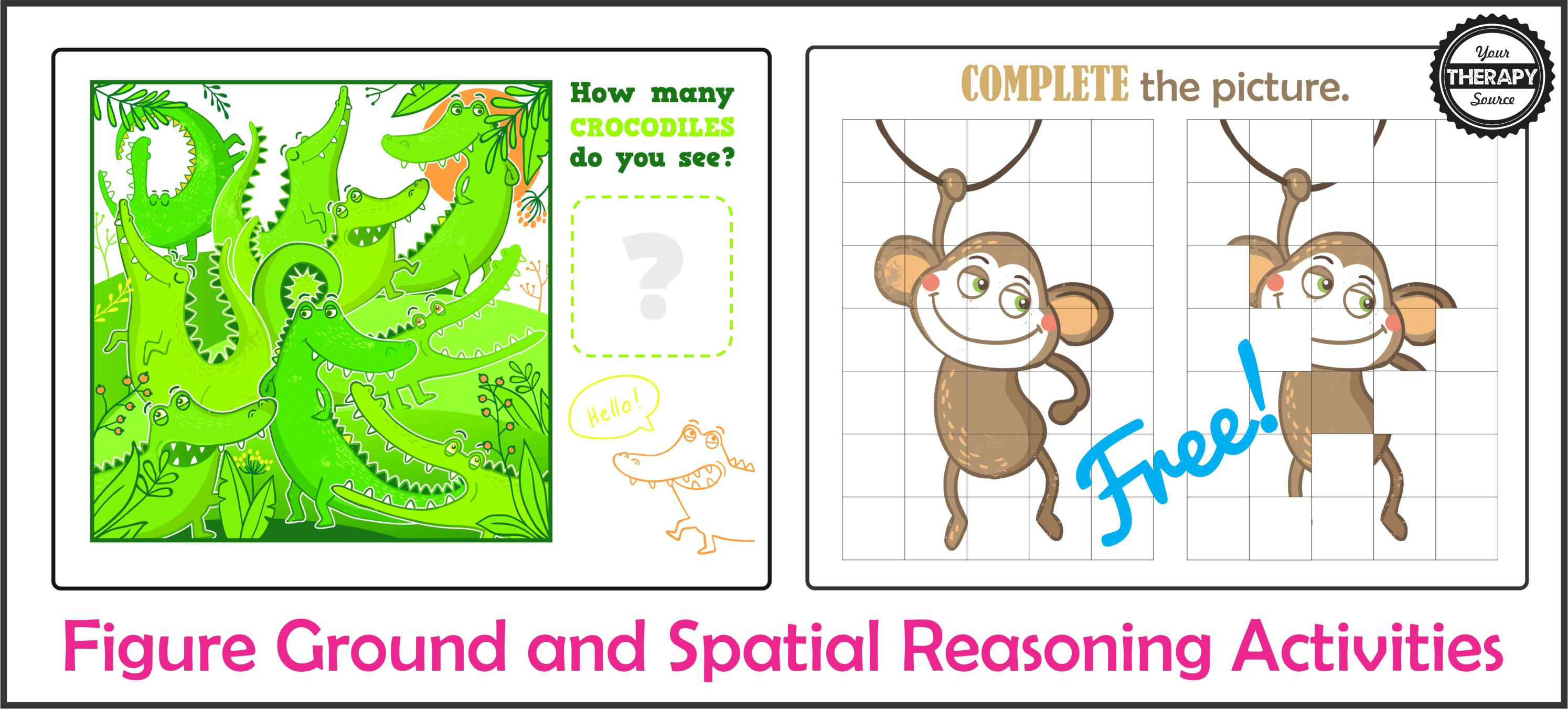 Figure Ground And Spatial Reasoning Activities