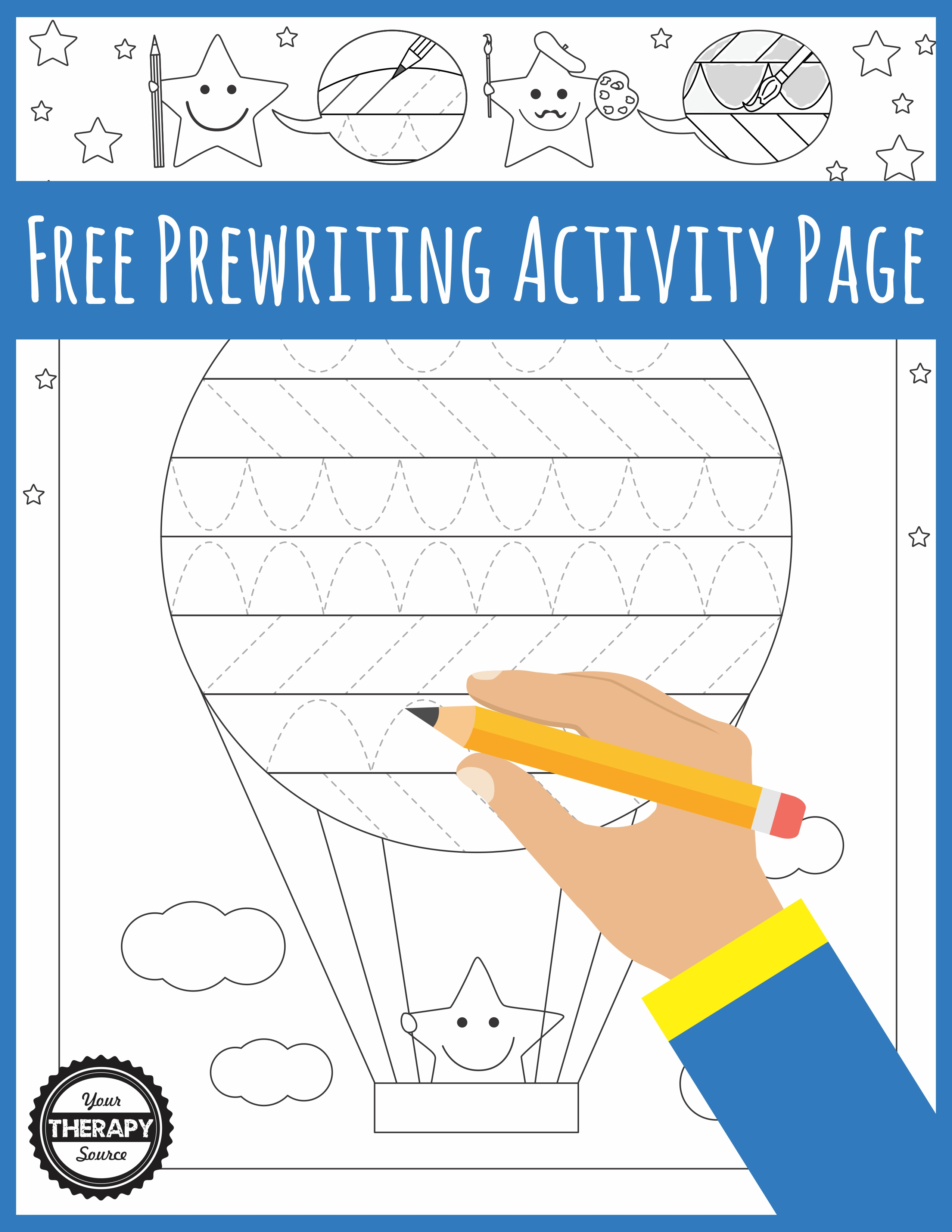 Prewriting Activity Pages