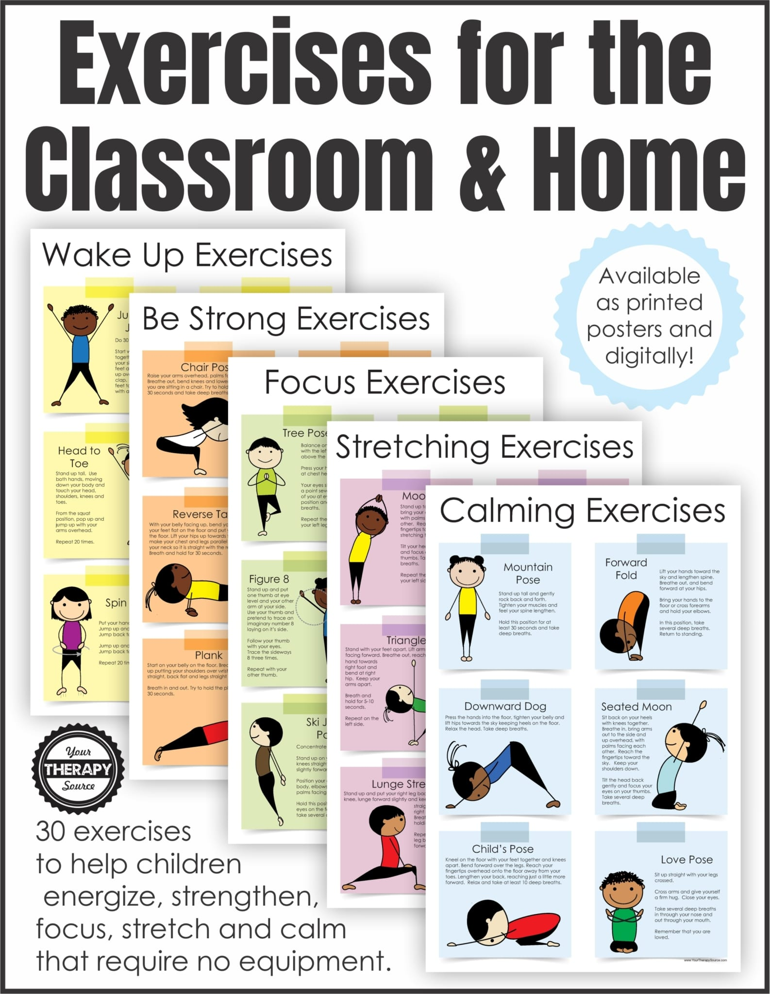 Exercises For The Classroom And Home Version