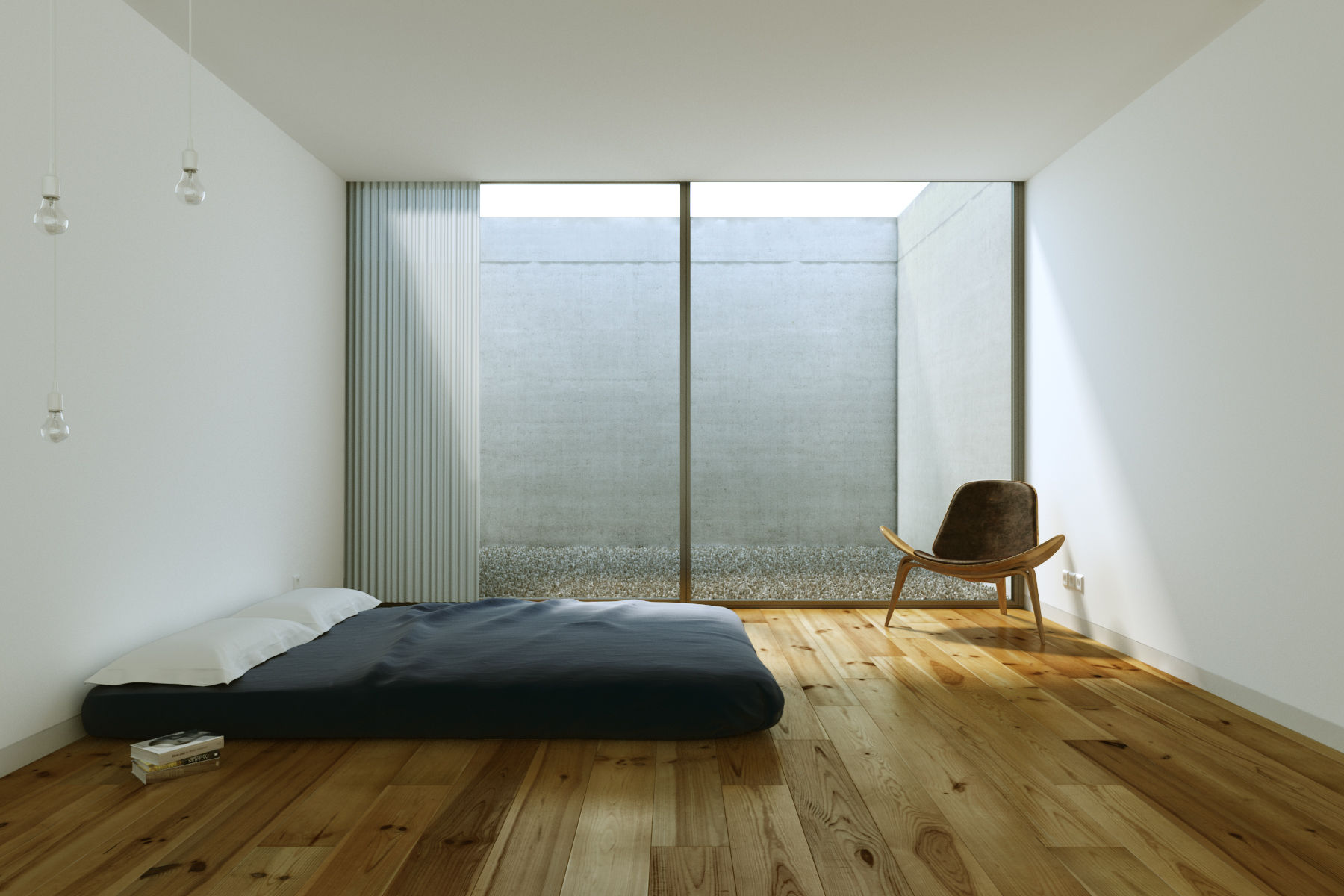 25 beautifully simple rooms that take minimalism to the ... on Minimalist Room Design  id=87571
