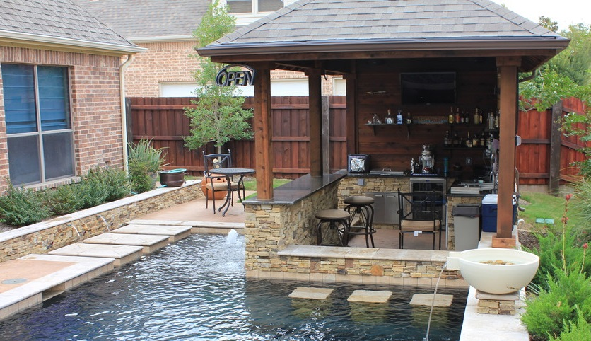 21 insanely clever design ideas for your outdoor kitchen on Outdoor Kitchen By Pool id=83010