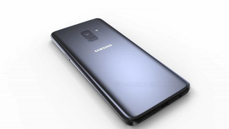 Durchgesickerte Render des Galaxy S9 zeigen nur einen Kamerasensor