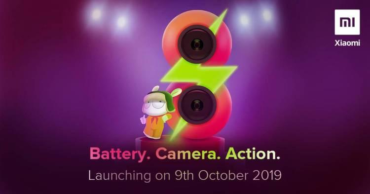 Xiaomi wird ein neues Gerät in Indien veröffentlichen, könnte das Redmi 8 sein