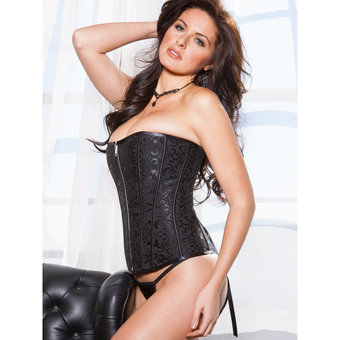 Save 25% on this Victorian Brocade Reversible Satin Corset by iCollection!