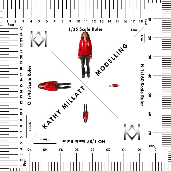 Modelling Water: Scale Ruler - Kathys