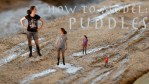 How to model puddles