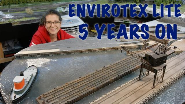 Envirotex Lite 5 years on