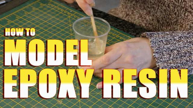How to Model Epoxy Resin