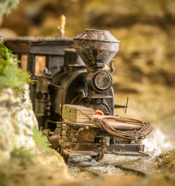 On30 small logging diorama