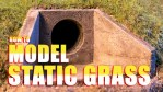 How to Model Static Grass