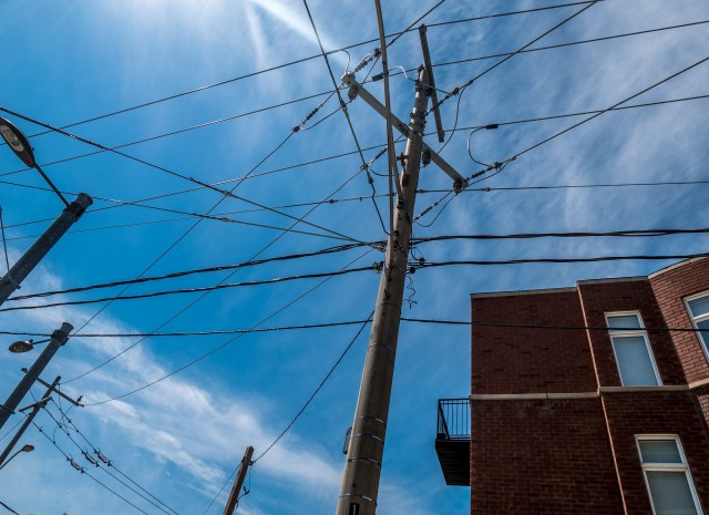 A Tangle of Streetcar Wires